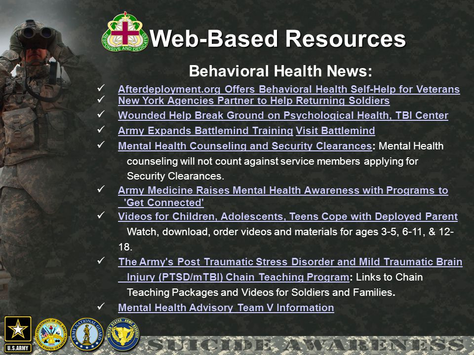 Behavioral Health News: