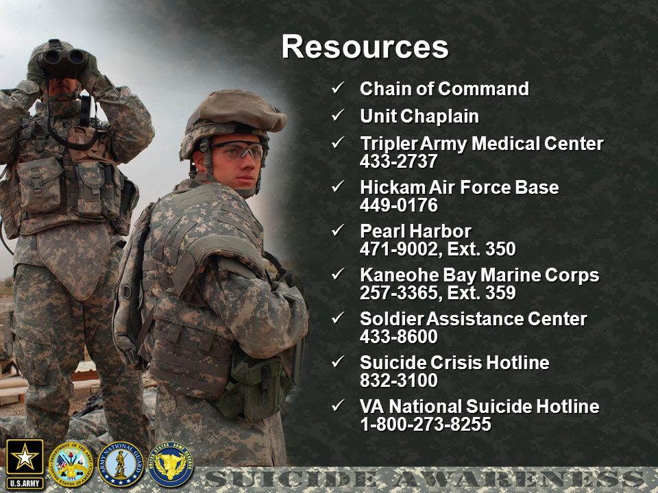 Resources Chain of Command Unit Chaplain Tripler Army Medical Center