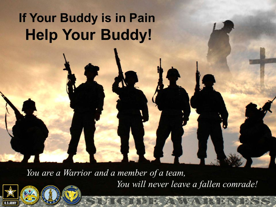 If Your Buddy is in Pain Help Your Buddy!