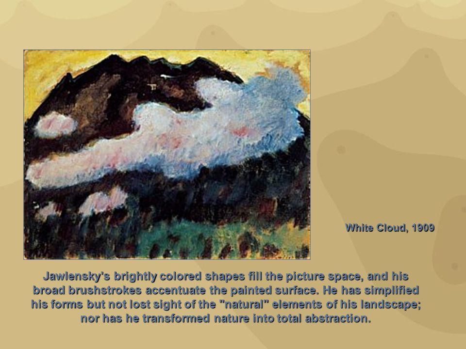 White Cloud, 1909