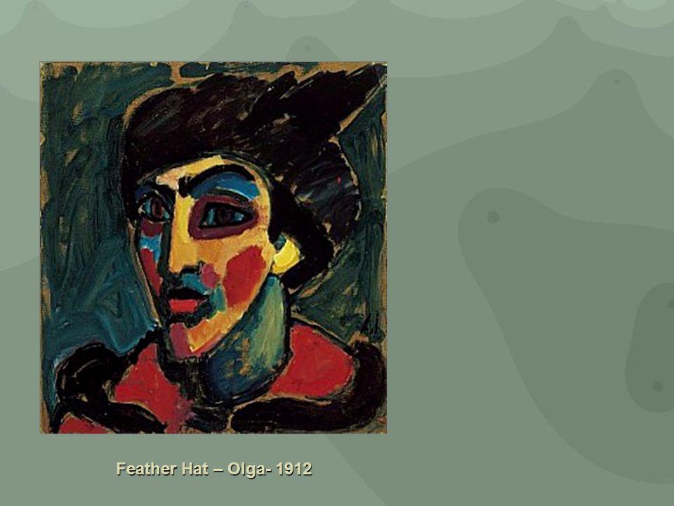 Feather Hat – Olga- 1912