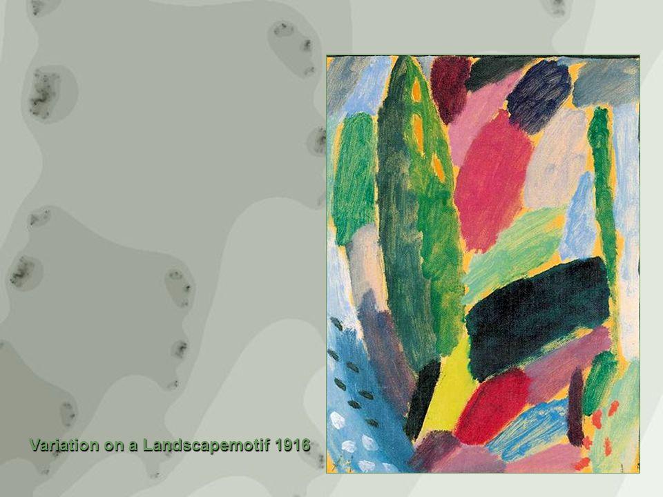 Variation on a Landscapemotif 1916