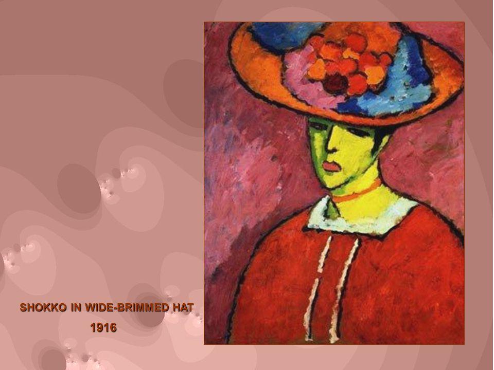 SHOKKO IN WIDE-BRIMMED HAT