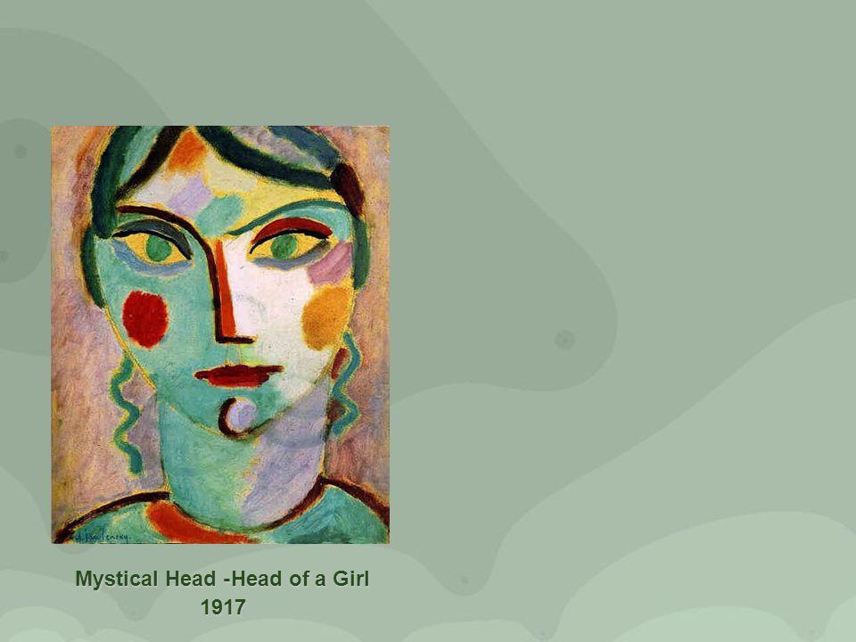 Mystical Head -Head of a Girl