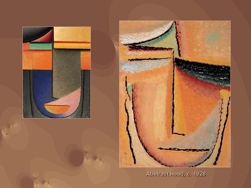 Abstract Head, c. 1928
