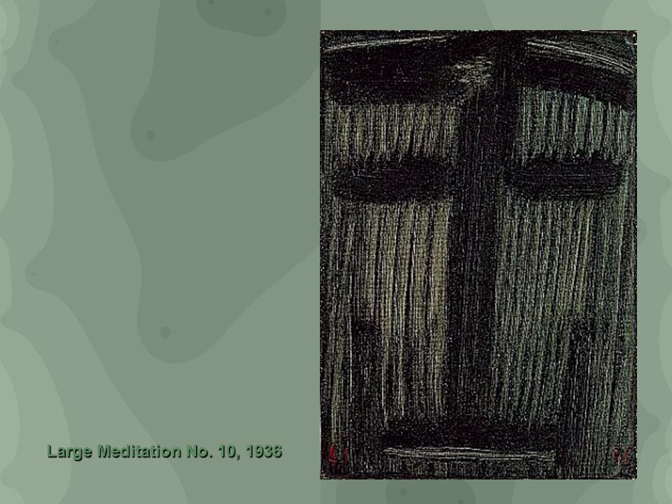 Large Meditation No. 10, 1936