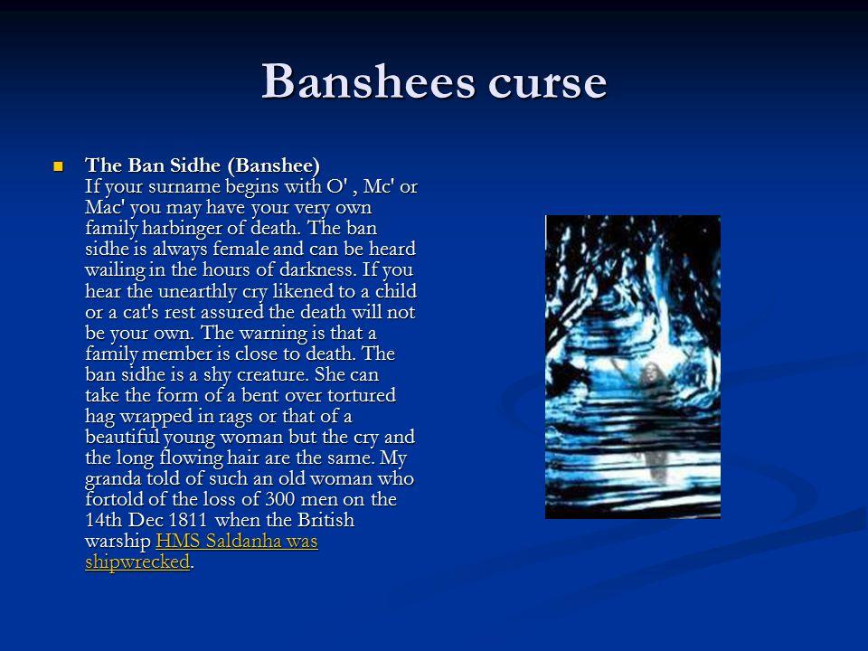 Banshees curse