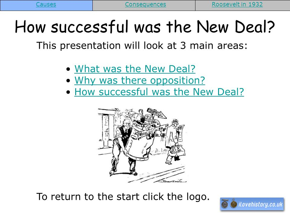 How successful was the New Deal