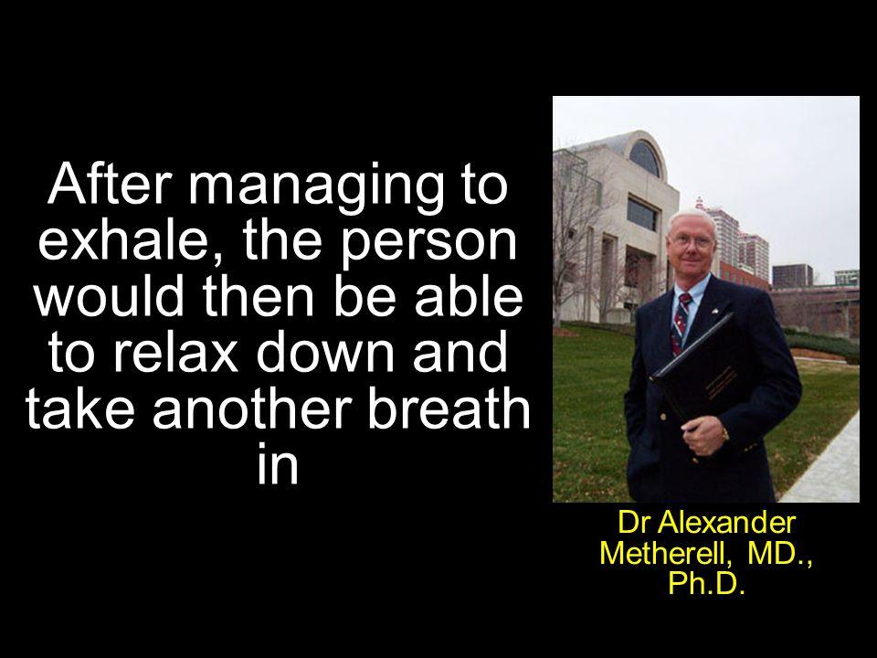 Dr Alexander Metherell, MD., Ph.D.