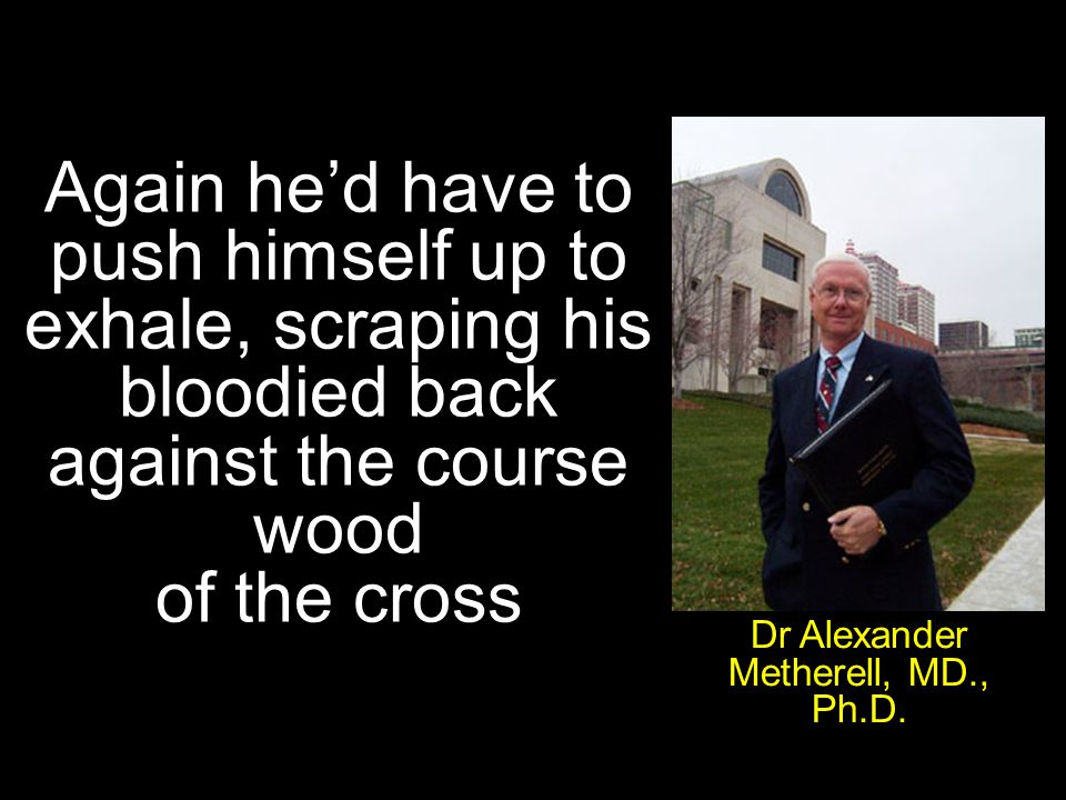 Dr Alexander Metherell, MD., Ph.D.