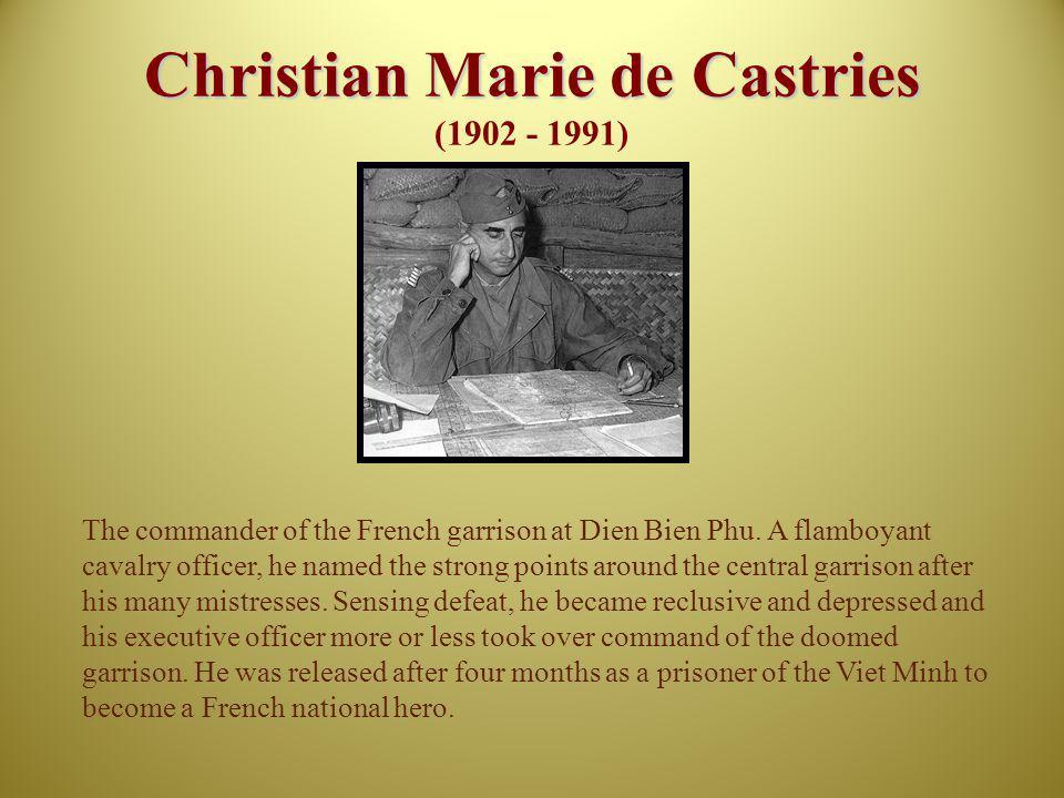 Christian Marie de Castries (1902 - 1991)