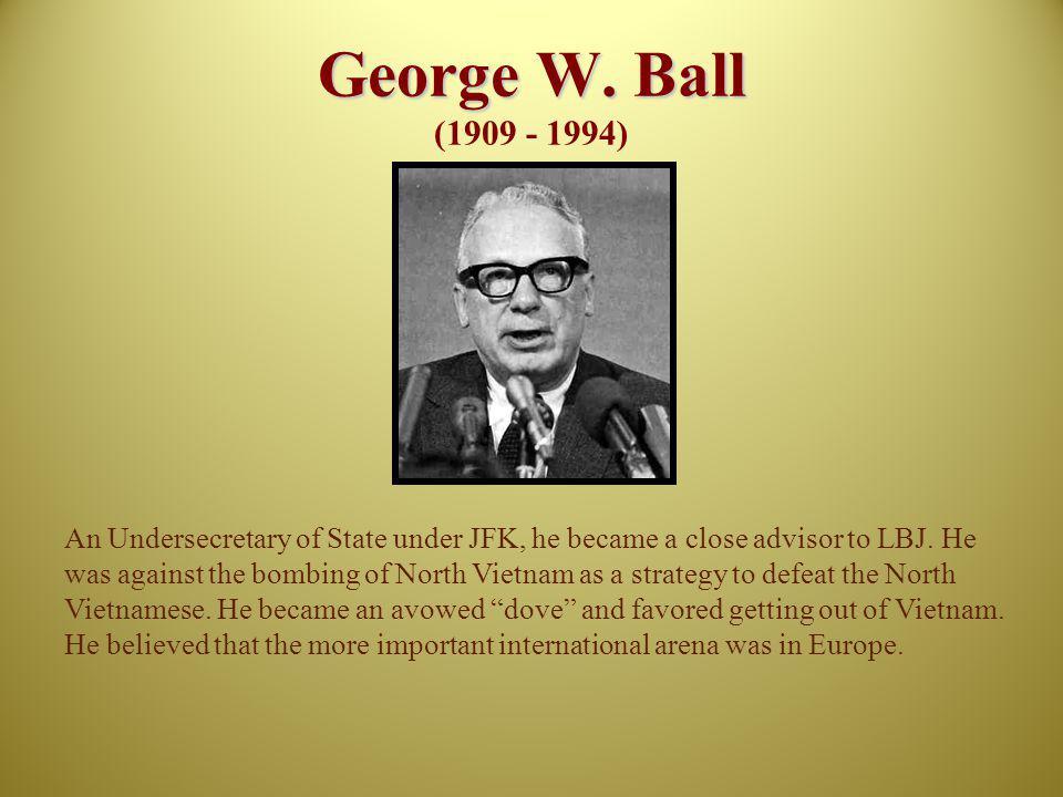 George W. Ball (1909 - 1994)