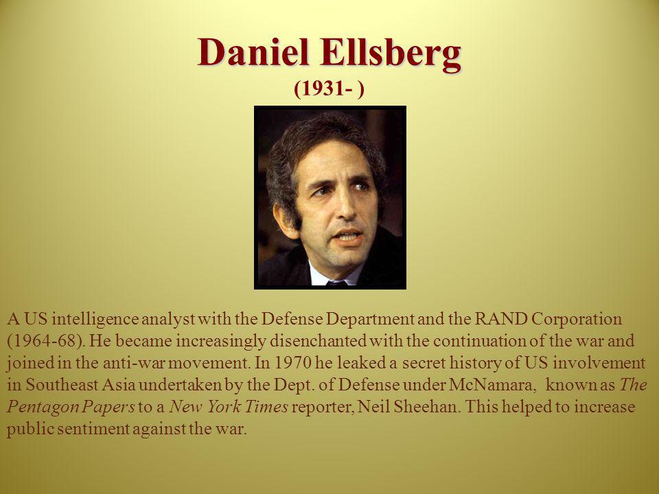 Daniel Ellsberg (1931- )