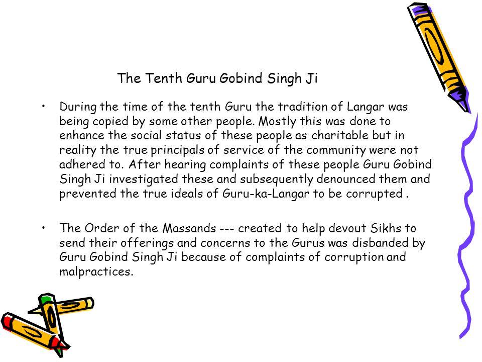 The Tenth Guru Gobind Singh Ji