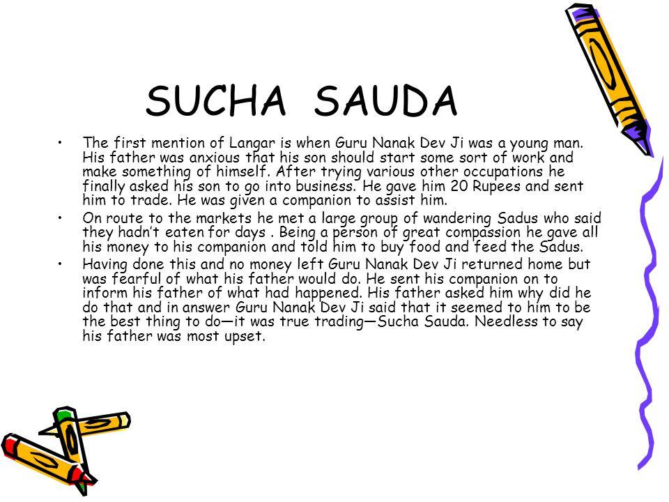 SUCHA SAUDA