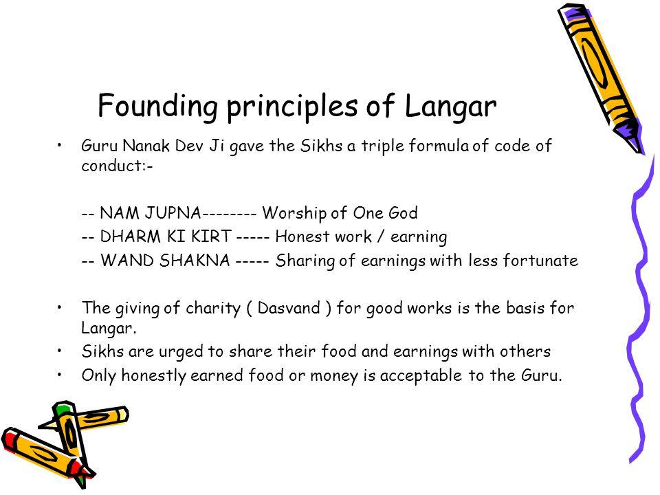 Founding principles of Langar