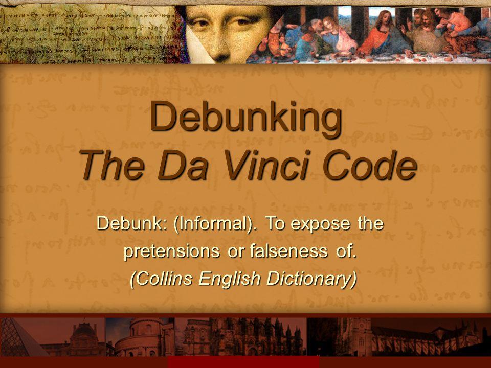 Debunking The Da Vinci Code