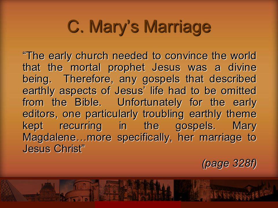 C. Mary's Marriage