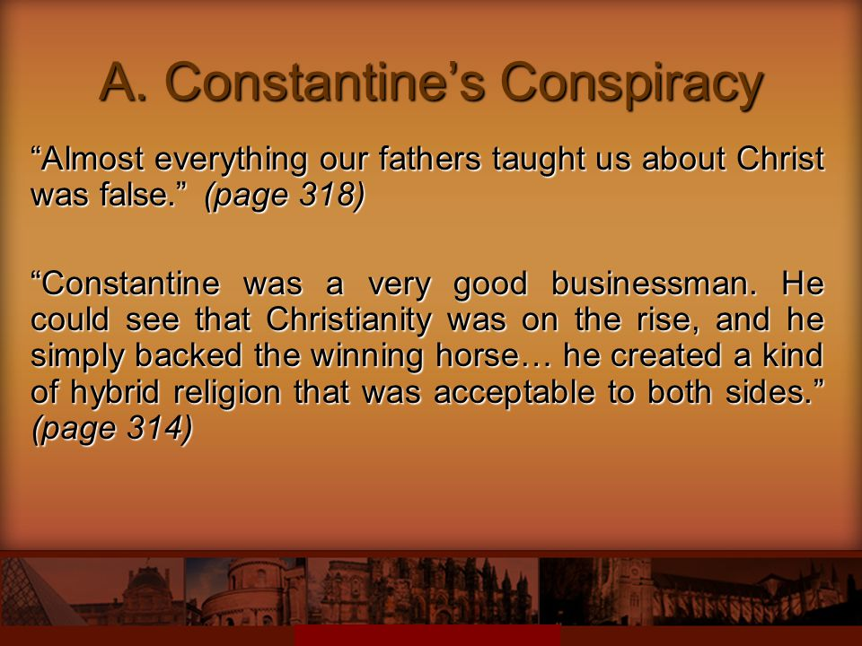 A. Constantine's Conspiracy