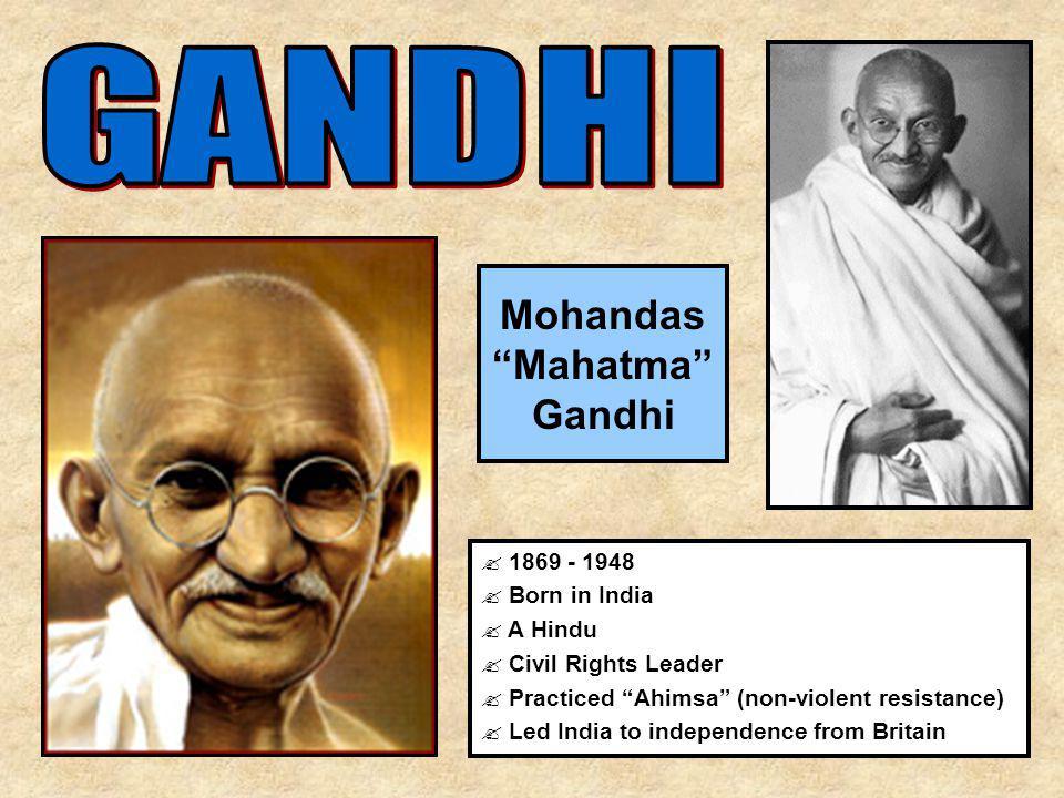 mahatma gandhi hindi 'महात्मा गाँधी' का जन्म 2 अक्टूबर सन 1869 में पोरबंदर में हुआ था। मैट्रिक परीक्षा पास करने के बाद वह उच्च शिक्षा के लिए इंग्लैंड गए। वहां.
