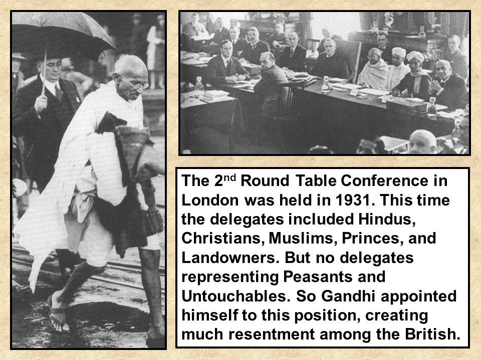 The 2nd Round Table Conference in London was held in 1931