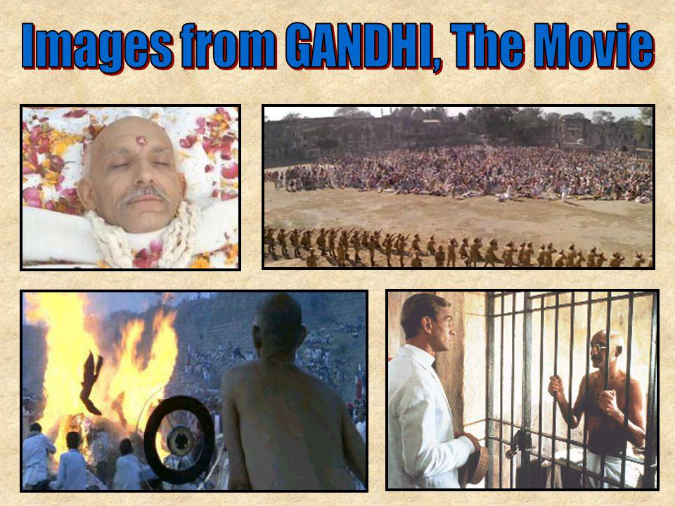 Images from GANDHI, The Movie