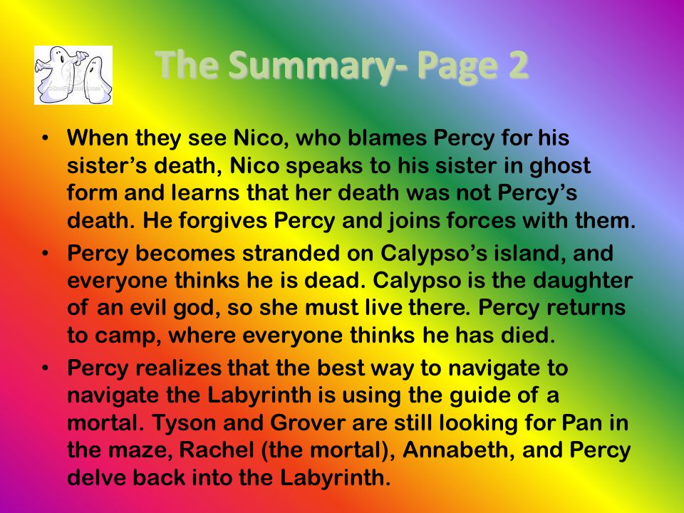 The Summary- Page 2