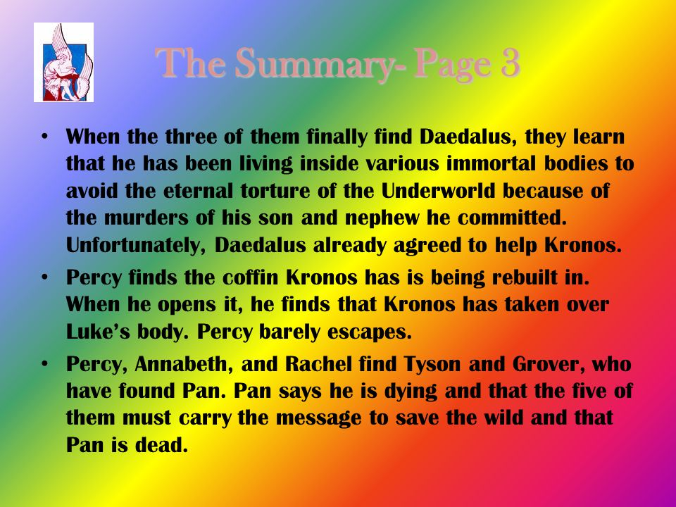 The Summary- Page 3