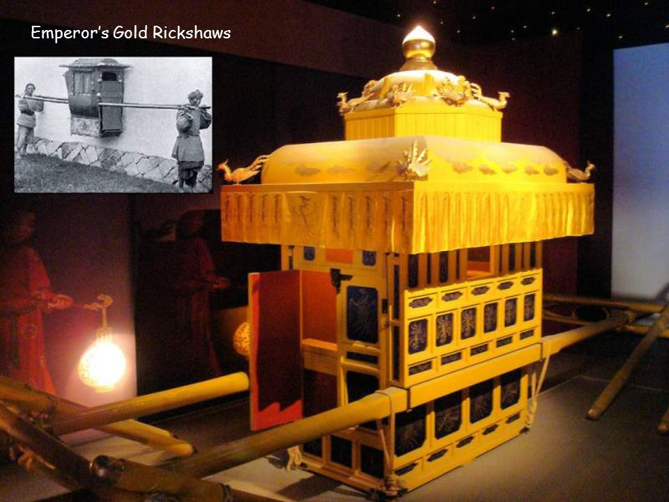 Emperor's Gold Rickshaws