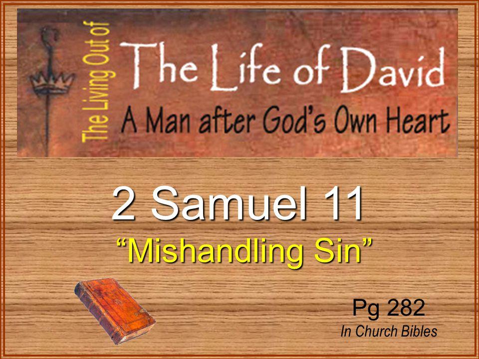 2 Samuel 11 Mishandling Sin Pg 282 In Church Bibles