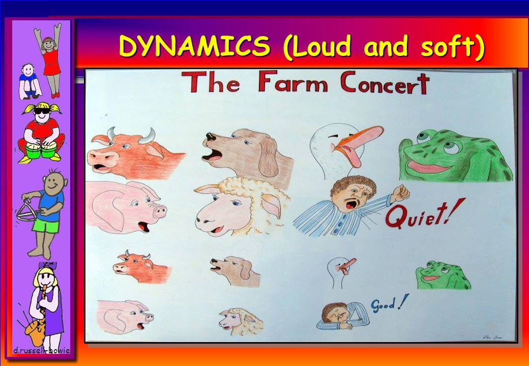 DYNAMICS (Loud and soft)