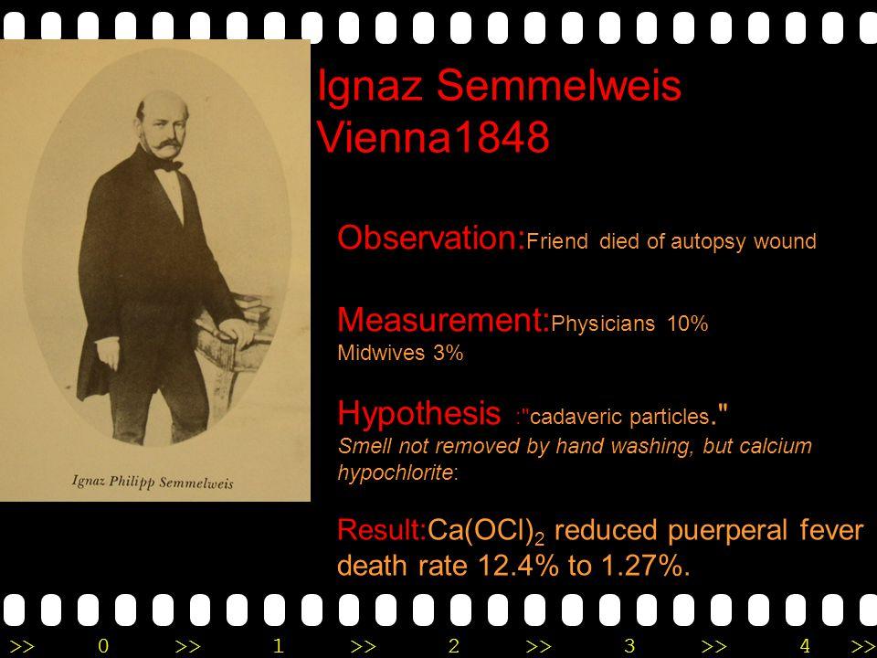 Ignaz Semmelweis Vienna1848