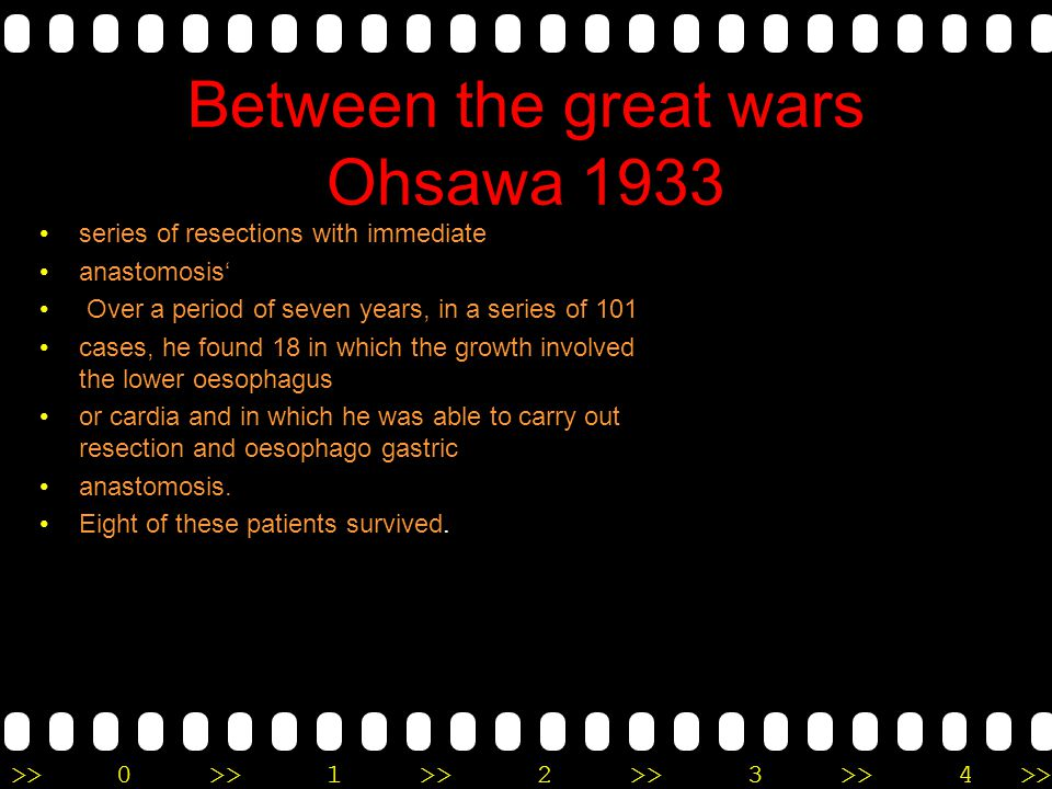 Between the great wars Ohsawa 1933