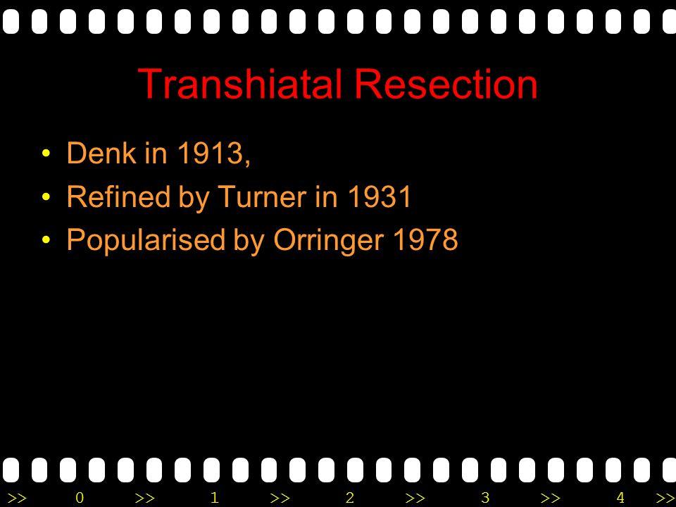 Transhiatal Resection