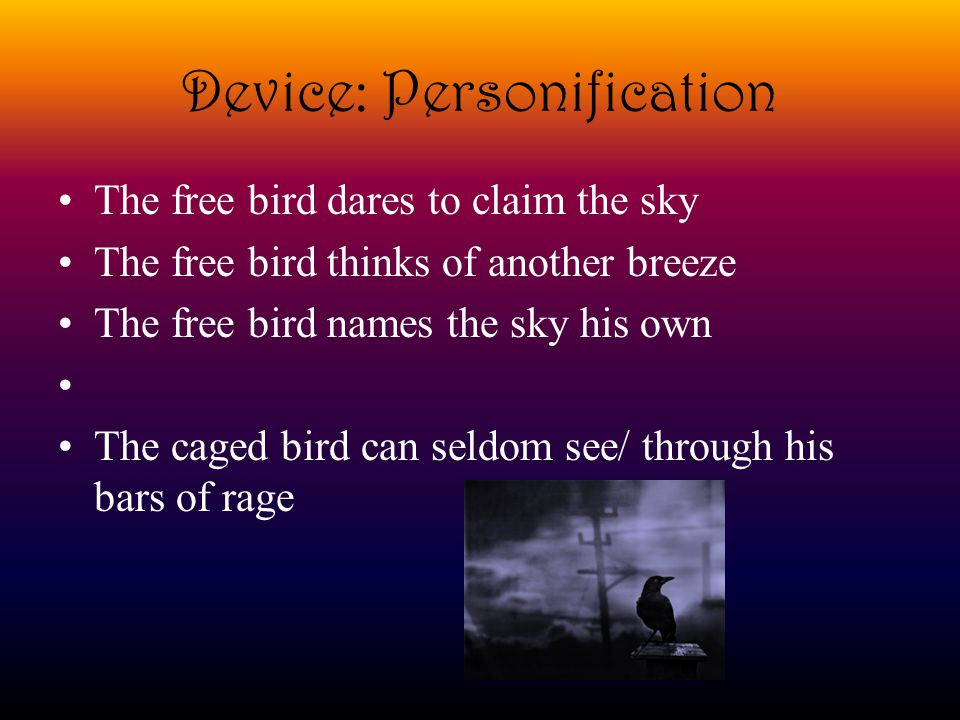 Device: Personification