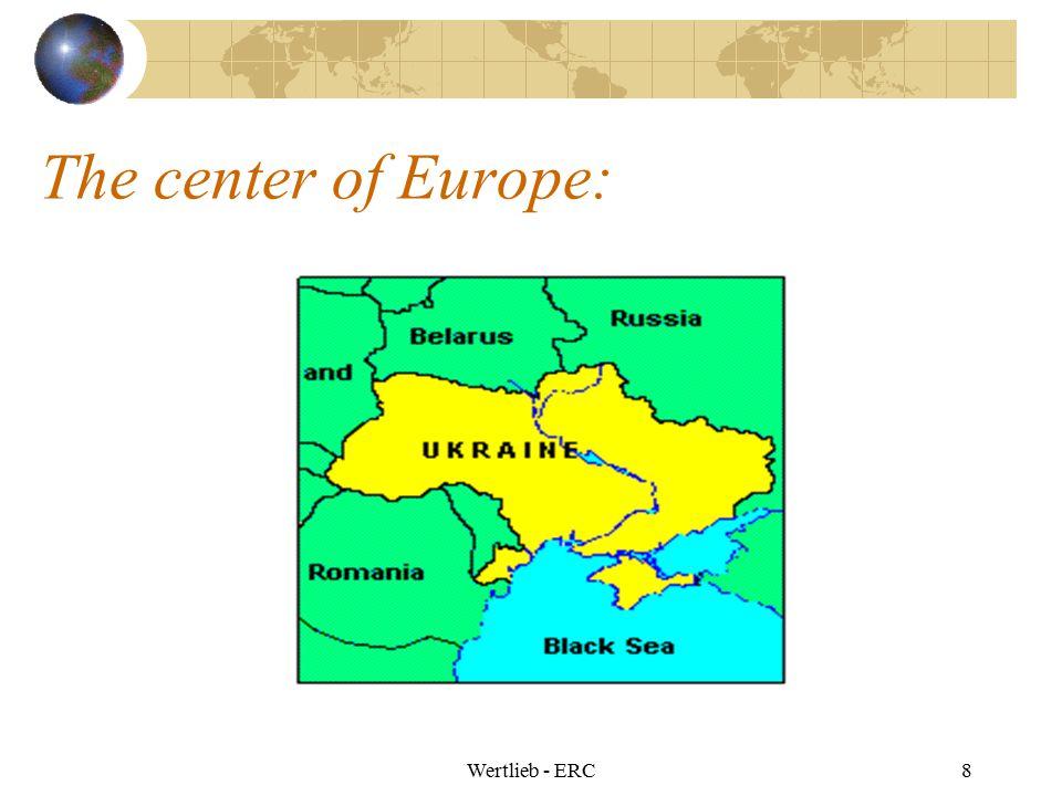 The center of Europe: Wertlieb - ERC