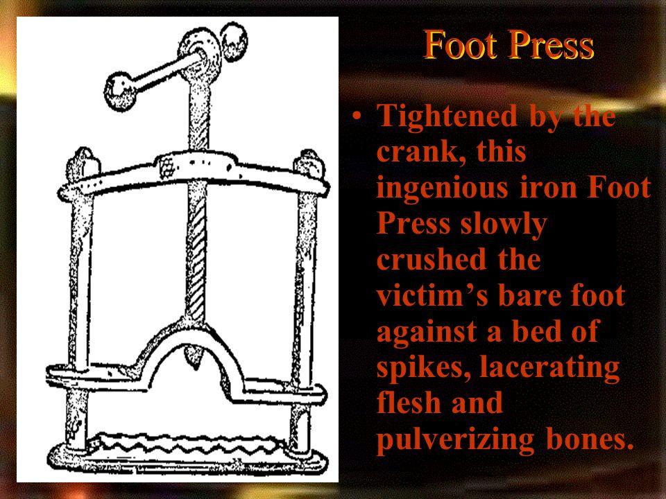 Foot Press