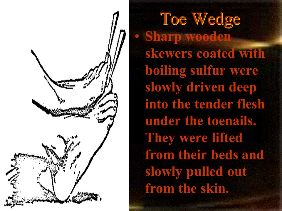 Toe Wedge