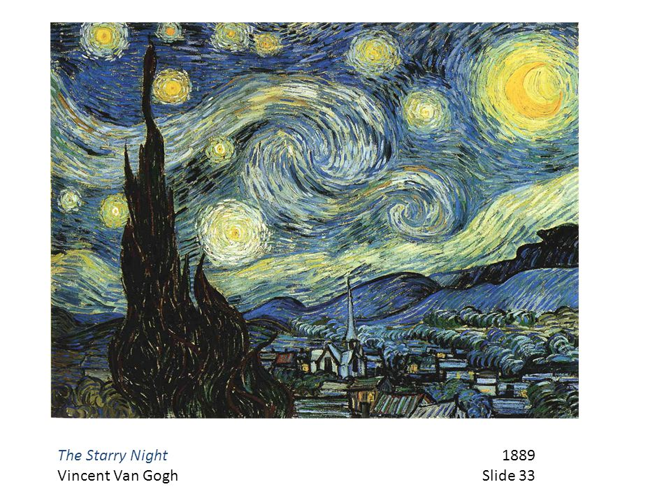 The Starry Night 1889