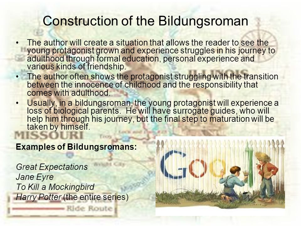 Construction of the Bildungsroman