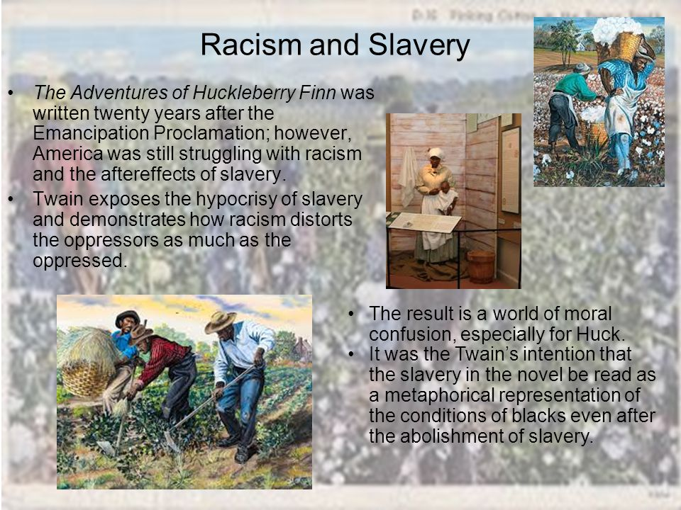 The influence of society on undeveloped morals in mark twains the adventures of huck finn
