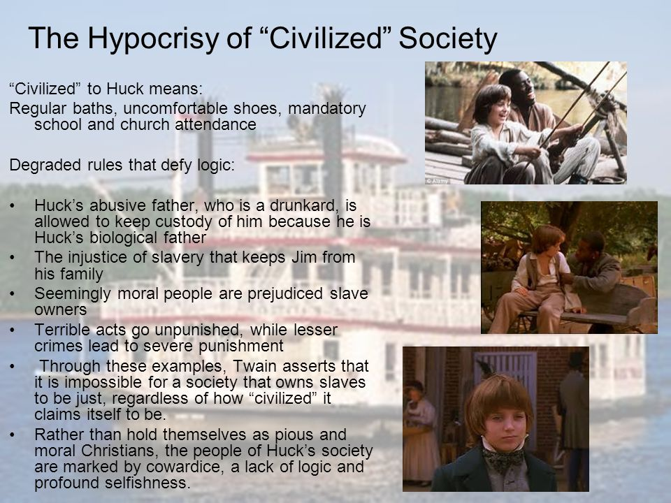 The Hypocrisy of Civilized Society