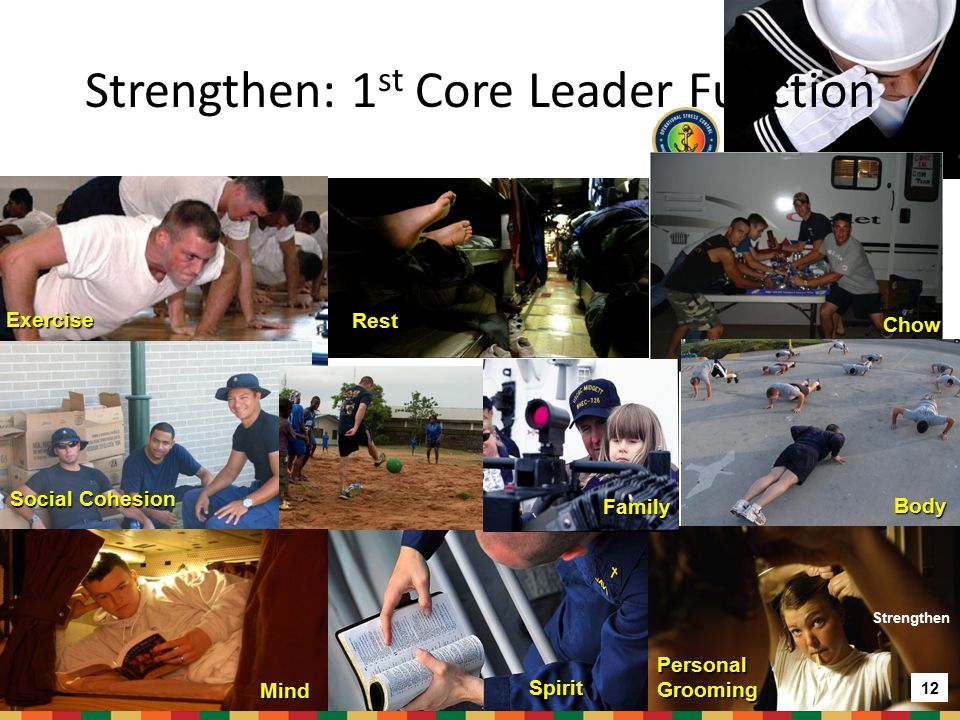Strengthen: 1st Core Leader Function
