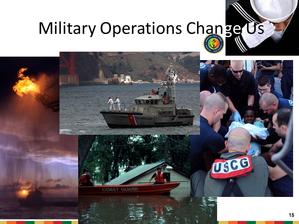 Military Operations Change Us