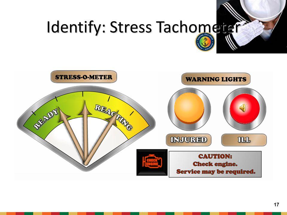 Identify: Stress Tachometer