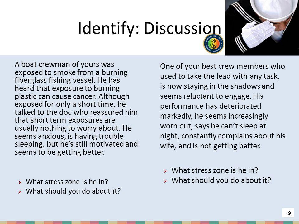 Identify: Discussion