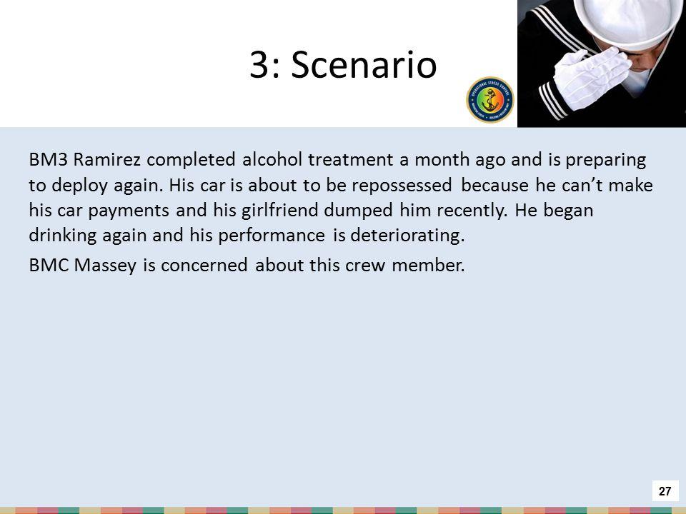3: Scenario