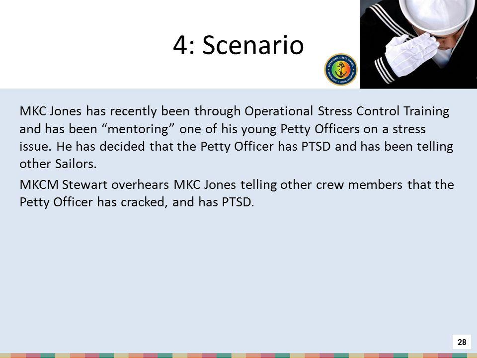 4: Scenario