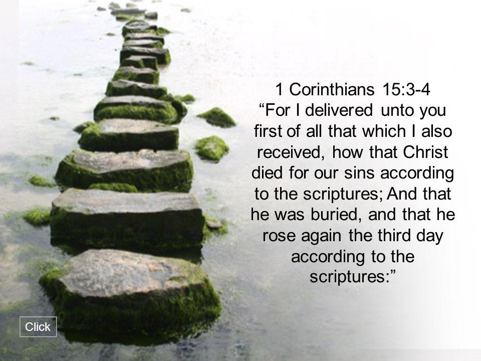 1 Corinthians 15:3-4