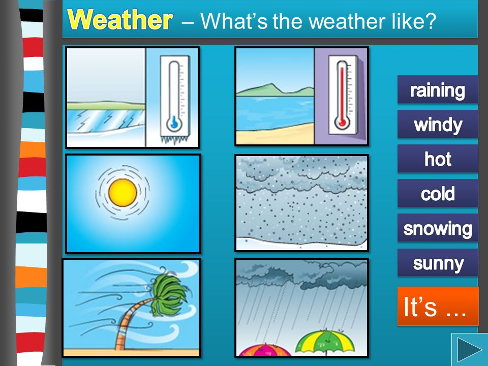Weather – What's the weather like